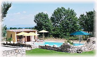 la piscine et son abri aménagé - Location de vacances - Pierrerue