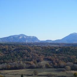 Vue sur les Gorges du Verdon de la location - Location de vacances - Puimoisson