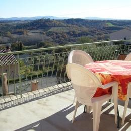 Terrasse de la location - Location de vacances - Puimoisson