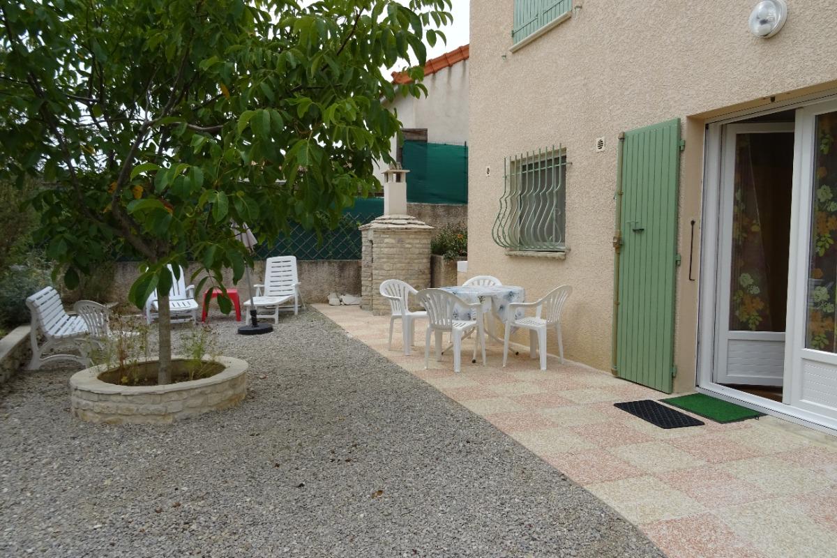 la location, jardin, terrasse - Location de vacances - Forcalquier