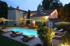 Vue de la structure avec la piscine - Location de vacances - Forcalquier