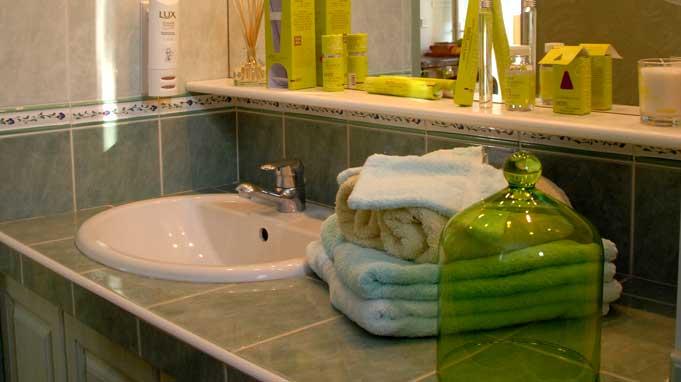 la salle de bains - Location de vacances - Forcalquier