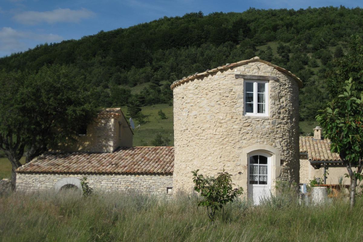 la tour du moulin - Location de vacances - La Rochegiron