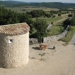 la piscine - Location de vacances - La Rochegiron