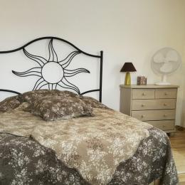 chambre 2  1 lit 140 - Location de vacances - Pierrevert
