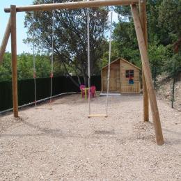 Jeux d'enfants - Location de vacances - Esparron-de-Verdon