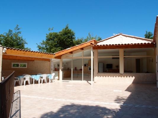 La terrasse - Location de vacances - Esparron-de-Verdon