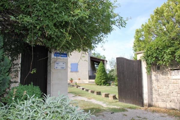 Entrée de la maison - Location de vacances - Moustiers-Sainte-Marie