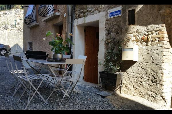 salon de jardin  - Location de vacances - Volonne