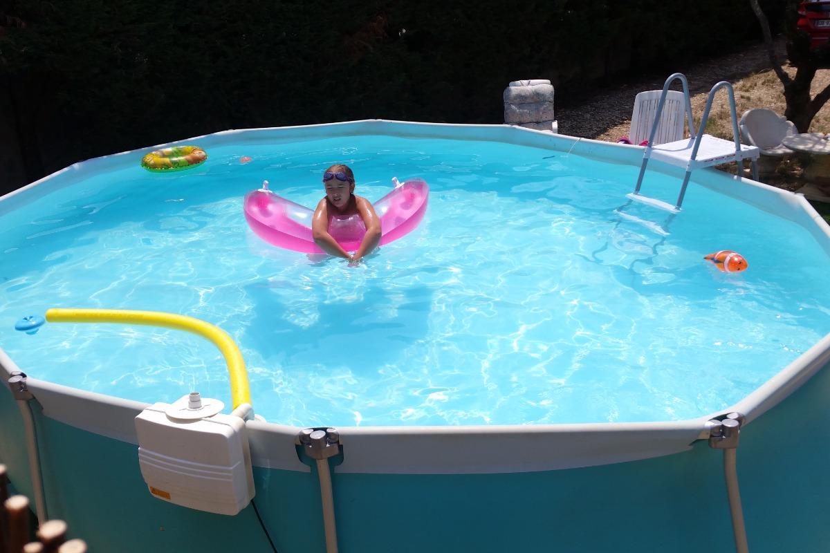 la piscine privée  - Location de vacances - Valensole