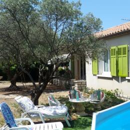 La maison avec la piscine  - Location de vacances - Valensole