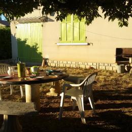 salon de jardin - Location de vacances - Valensole