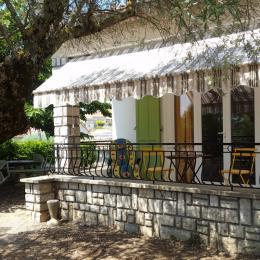 La terrasse couverte - Location de vacances - Valensole