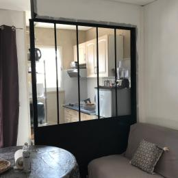 pièce à vivre avec grande verrière  - Location de vacances - Gréoux-les-Bains