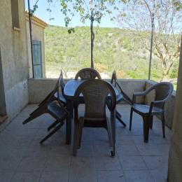 Les Lavandins, la  terrasse Vachères - Location de vacances - Vachères