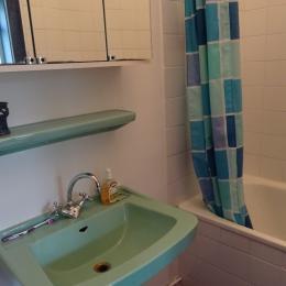 la salle de bains - Location de vacances - Sausses