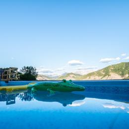 Halte Air et Go/ Cheval blanc/ piscine - Location de vacances - Marcoux