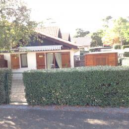 Extérieur de la maison,jardinet clôturé. - Location de vacances - Capbreton