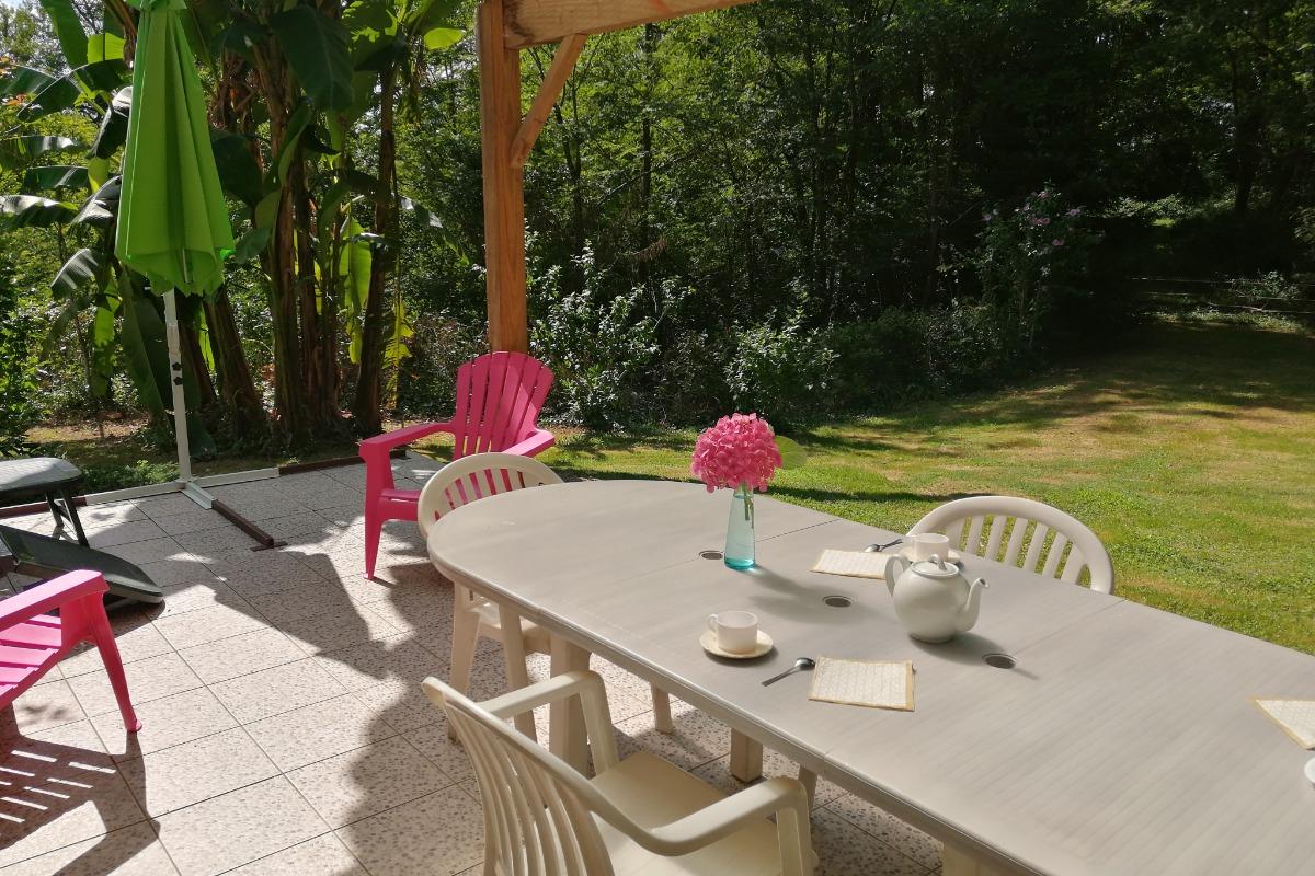 coin canapé - Location de vacances - Hinx