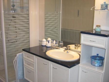 Salle de bain chambre 2 - Chambre d'hôtes - Narrosse