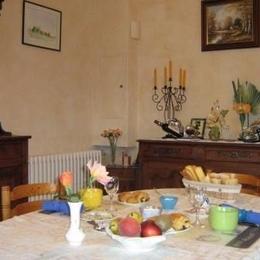 Petit-déjeuner  - Chambre d'hôtes - Narrosse
