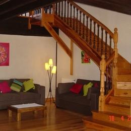 chambre rez - Location de vacances - Beylongue