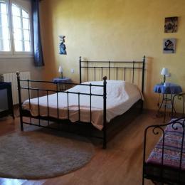 salle bain rez - Location de vacances - Beylongue