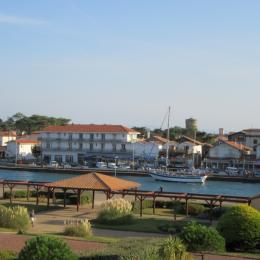 l'entrée des bateaux depuis la terrasse - Location de vacances - Capbreton