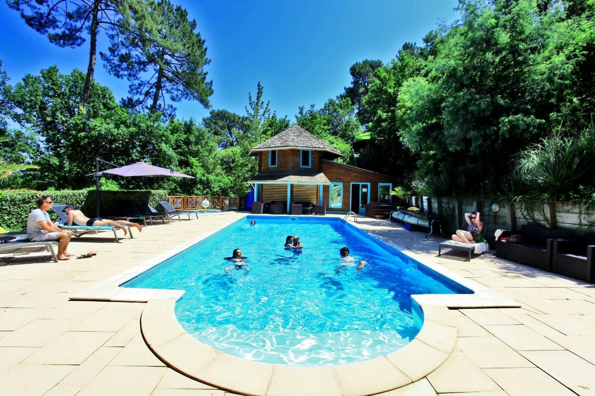 Piscine - Location de vacances - Messanges