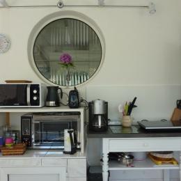 Coin cuisine - Chambre d'hôtes - Narrosse