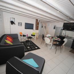 salon - Location de vacances - Soustons