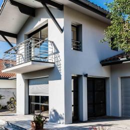 Location Maison Contemporaine exterieur balcon Capbreton - Location de vacances - Capbreton
