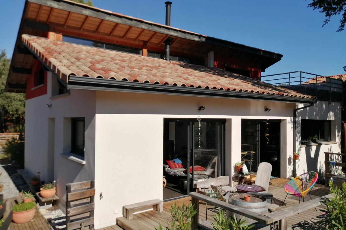 Terrasse - Location de vacances - Messanges