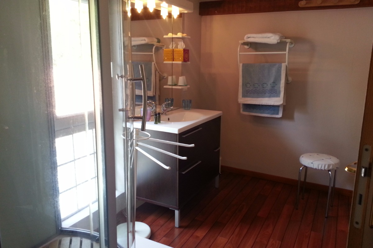Salle d'eau - Chambre d'hôtes - Mimizan