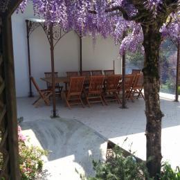 terrasse - Chambre d'hôtes - Mimizan