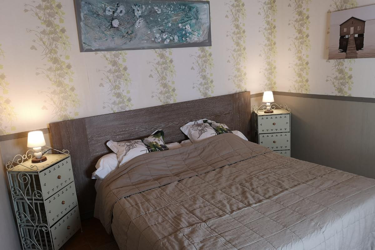 Chambre jardin - Chambre d'hôtes - Mimizan