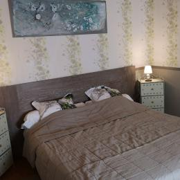 chambre avec lit 180 ou 2 x 90  - Chambre d'hôtes - Mimizan