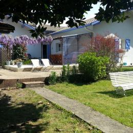 jardin terrasse - Chambre d'hôtes - Mimizan