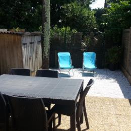 Terrasse avec petit espace extérieur - Location de vacances - Capbreton