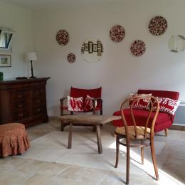 Le salon - Location de vacances - Geaune