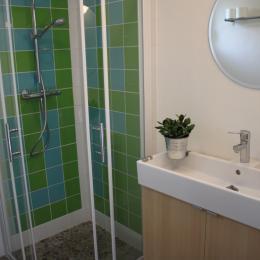 salle d'eau - Location de vacances - Biscarrosse