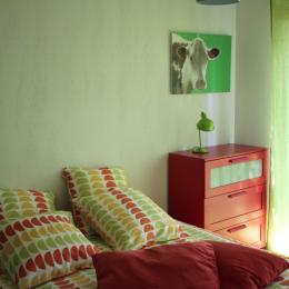 chambre avec terrasse, lit 160 - Location de vacances - Biscarrosse