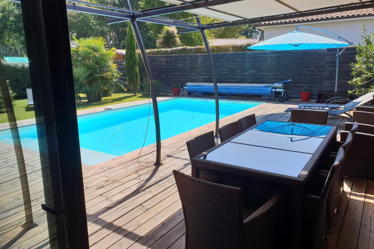 salon de jardin - Location de vacances - Moliets-et-Maa