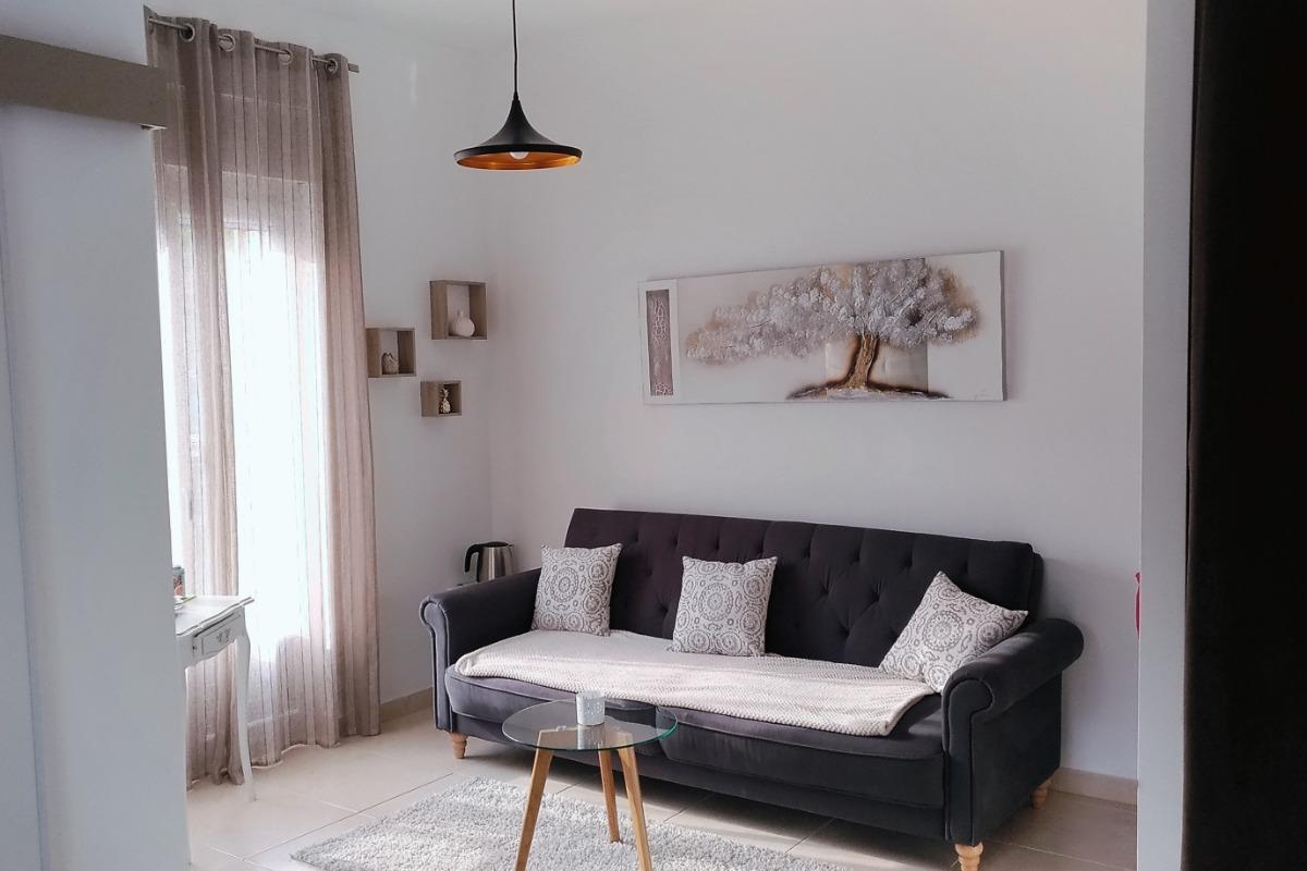 Coin salon - Chambre d'hôtes - Oeyreluy