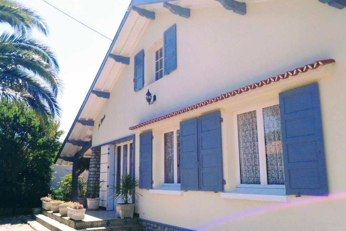 L'entrée de la maison - Location de vacances - Tarnos