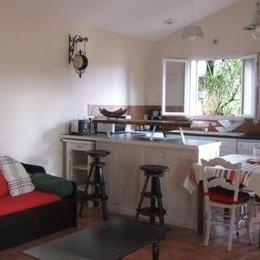 Cuisine ouverte - Location de vacances - Vielle-Saint-Girons