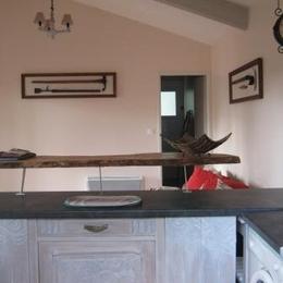 Comptoir, bar original - Location de vacances - Vielle-Saint-Girons