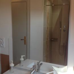 salle de douche privative - Chambre d'hôtes - Montrichard Val de Cher