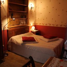 Chambres d'hôtes près de la Chartreuse de Sainte-Croix-en-Jarez - Chambre Coquelicots - Chambre d'hôtes - Sainte-Croix-en-Jarez