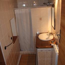 Chambres d'hôtes près de la Chartreuse de Sainte-Croix-en-Jarez - Salle d'eau de la Chambre Petite Reine - Chambre d'hôtes - Sainte-Croix-en-Jarez